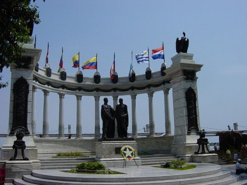 Malecon 2000 in Guayaquil Ecuador