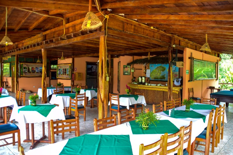 Restaurante Suchipakari Lodge