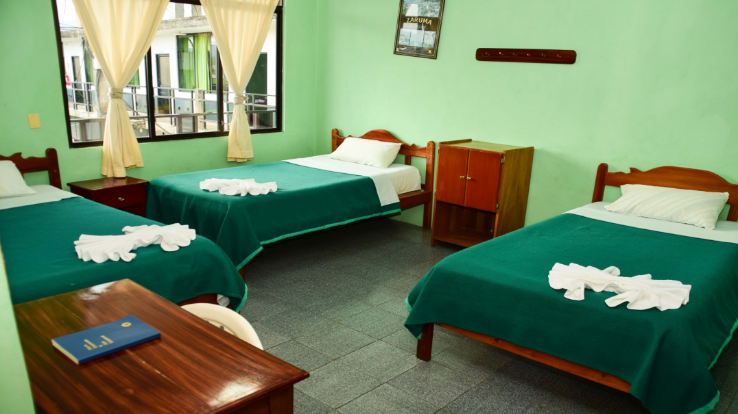 Triple room in Tena City Hostal Yasuni