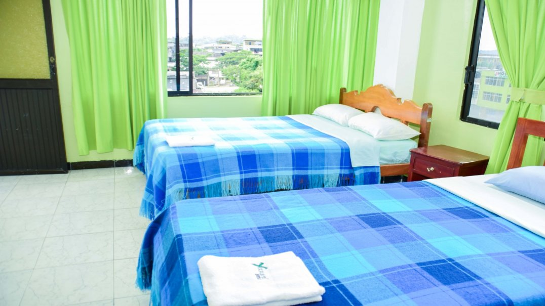 Double room in the city of Tena Hostal Yasuní
