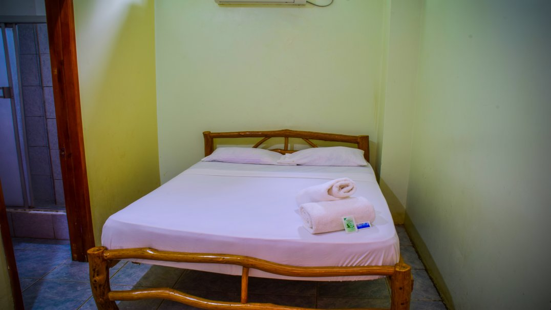 Double room in Puerto Lopez