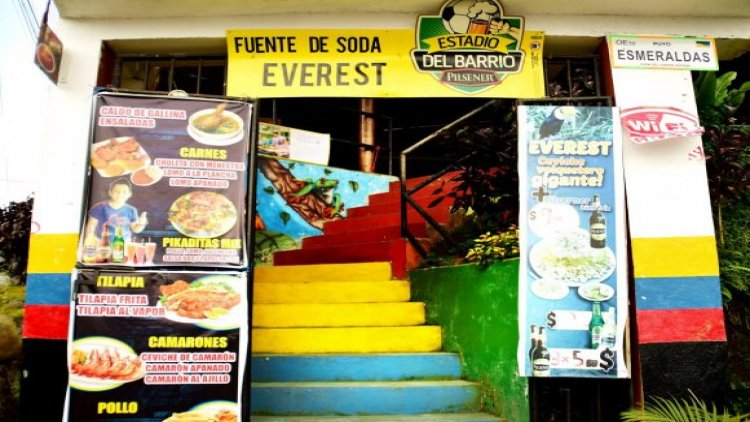 Fuente de Soda Everest