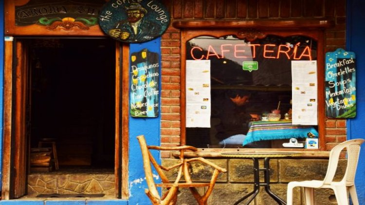 The Coffee Lounge en Baños Ecuador