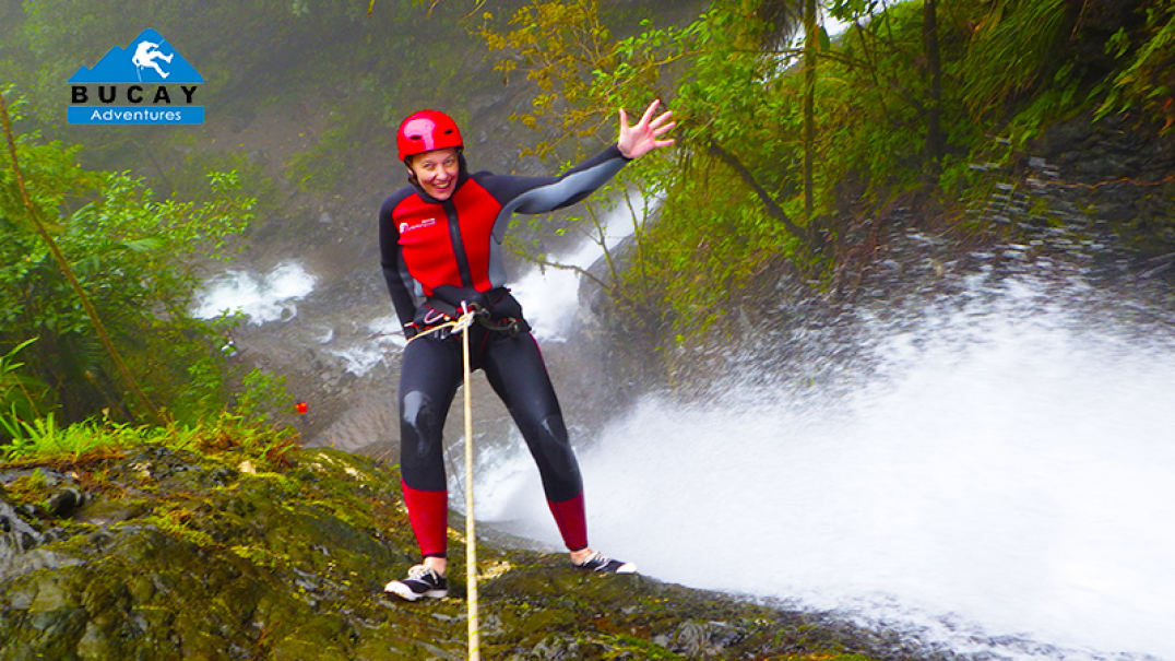 Canyoning in Bucay, near GUAYAQUIL