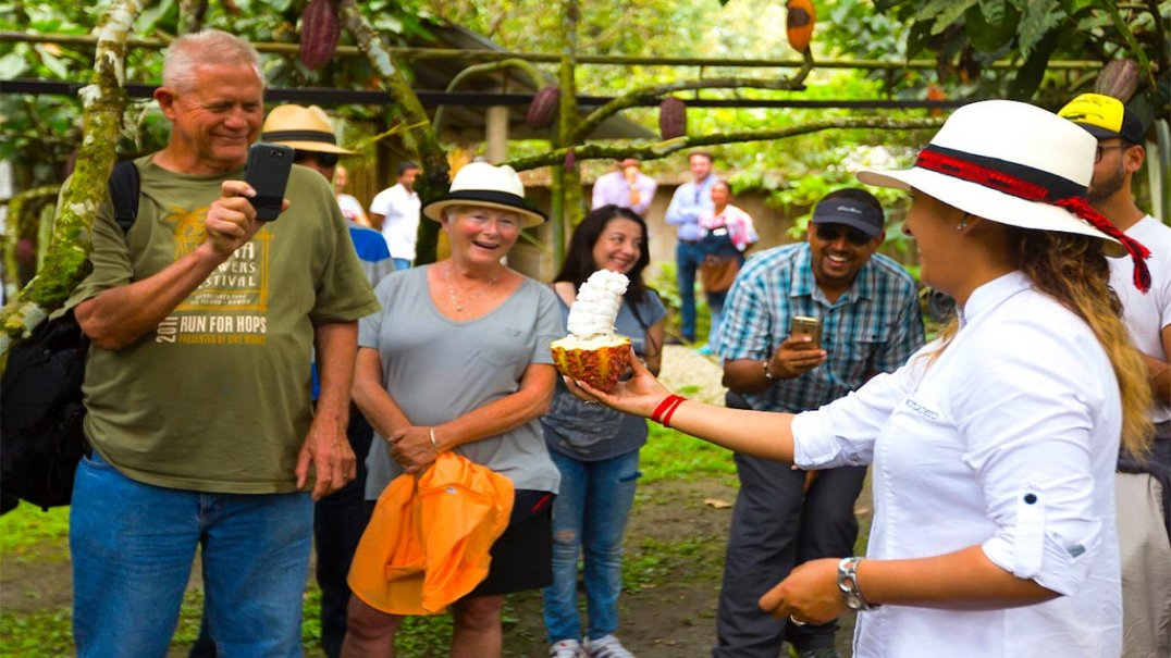 Full-Day Historic Hacienda Chocolate Tour near Guayaquil